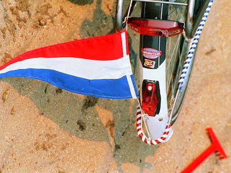 IJsselmeer Nederlands vlaggetje
