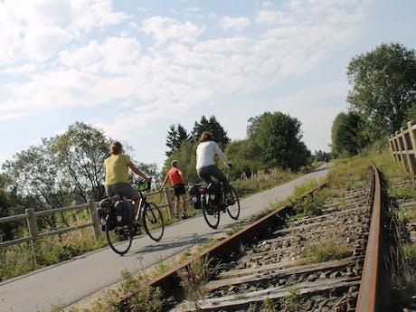 Vennbahn samen langs de spoorlijn