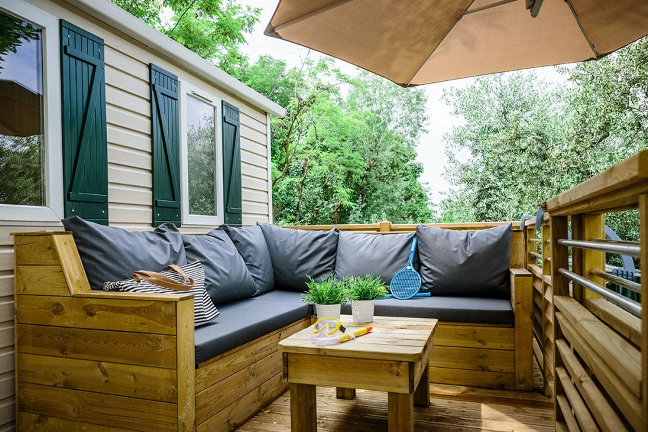 Stacaravan Verde Lounge