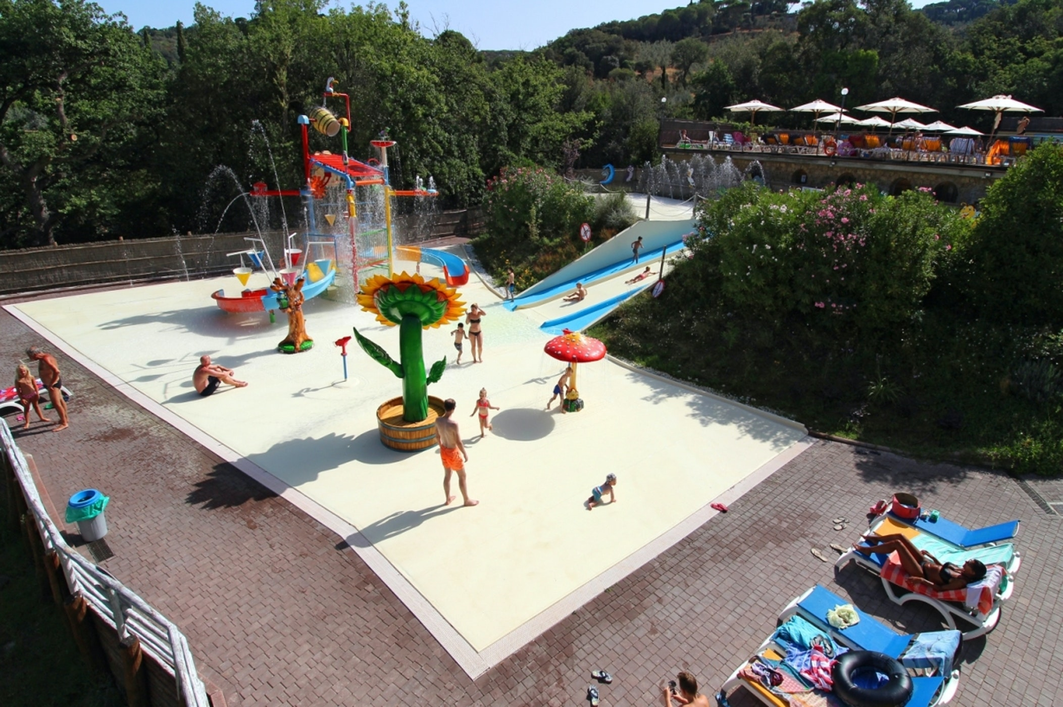 Camping le Pianacce Spray Park
