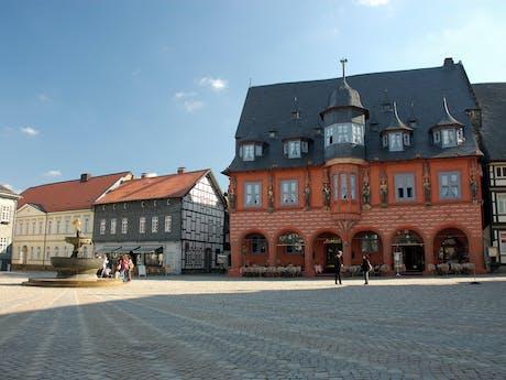 Goslar marktplein