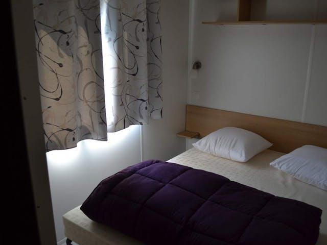 Stacaravan XXL slaapkamer