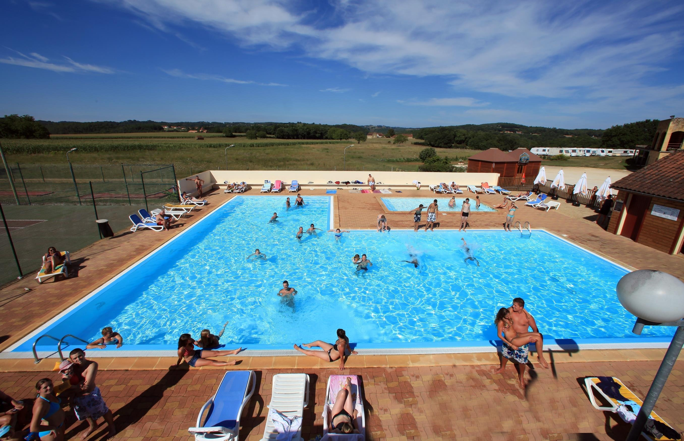 Camping de Maillac zwembad