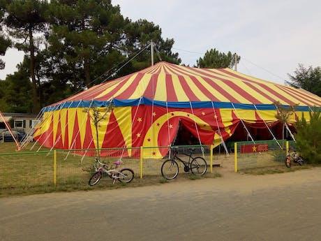 Camping Palmyre Loisirs circus