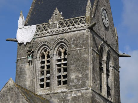 Ste Mere Eglise - Normandië