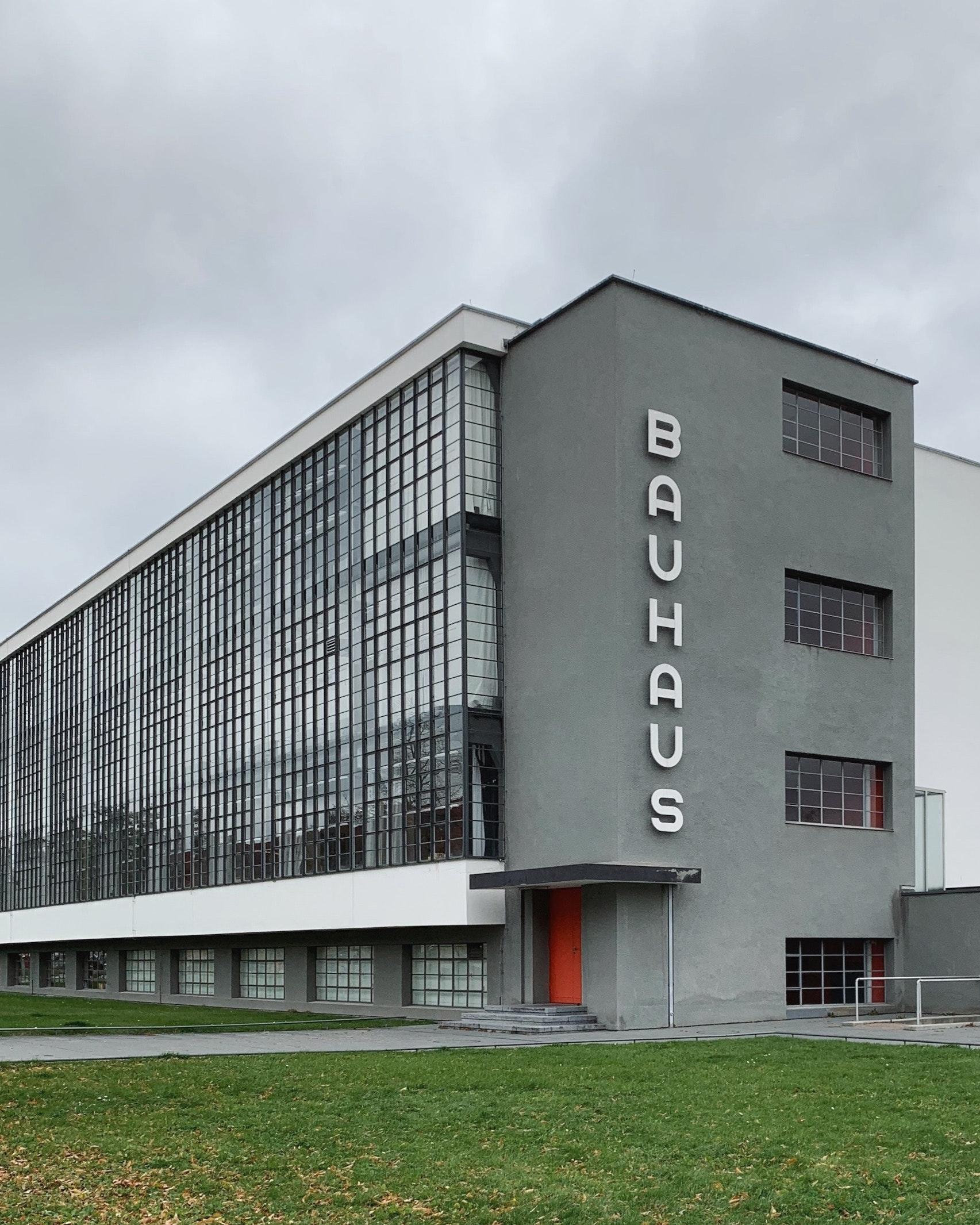 Dessau Hoofdgebouw Academie Bauhaus