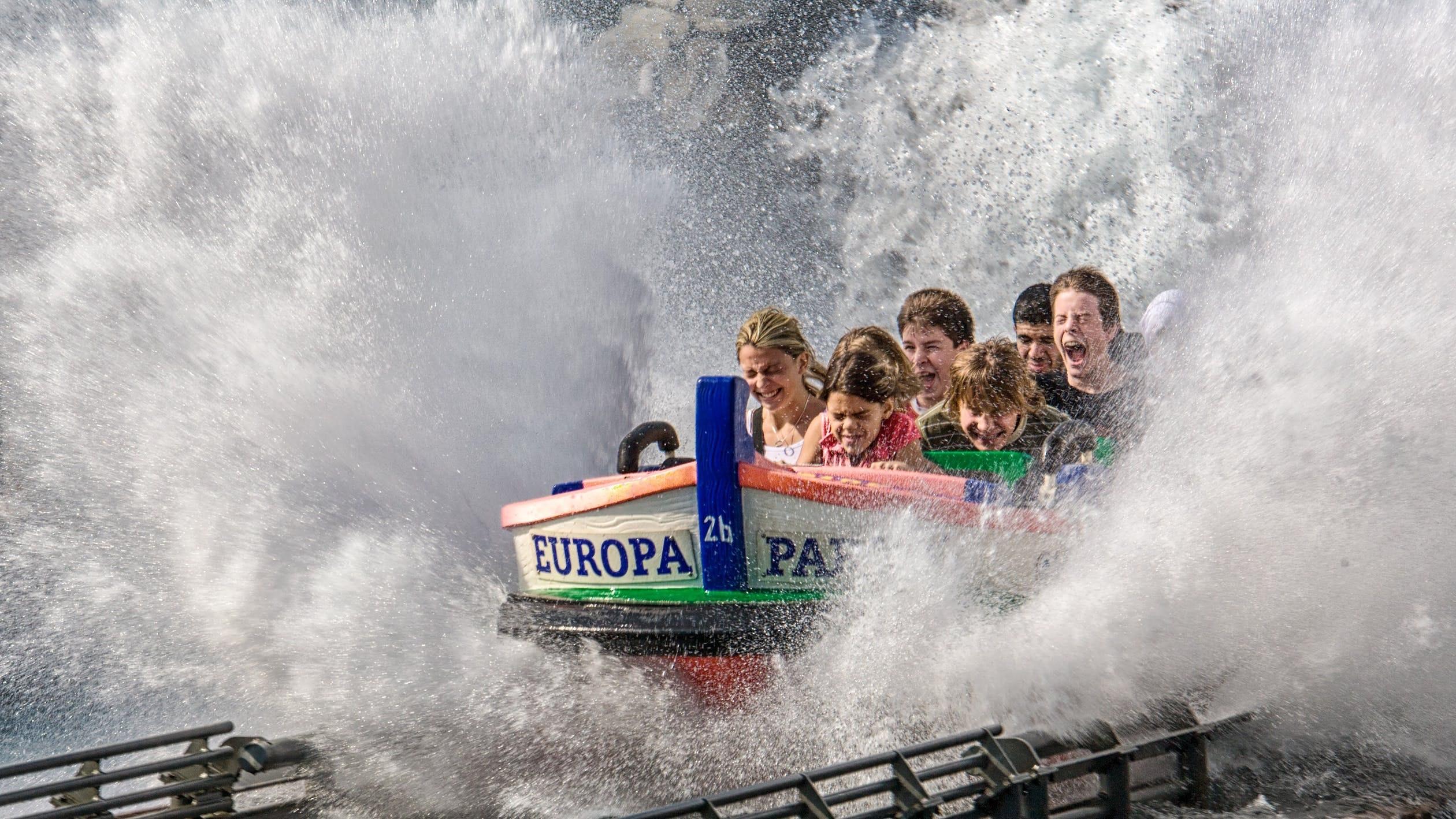 europa-park boat splash rust duitsland