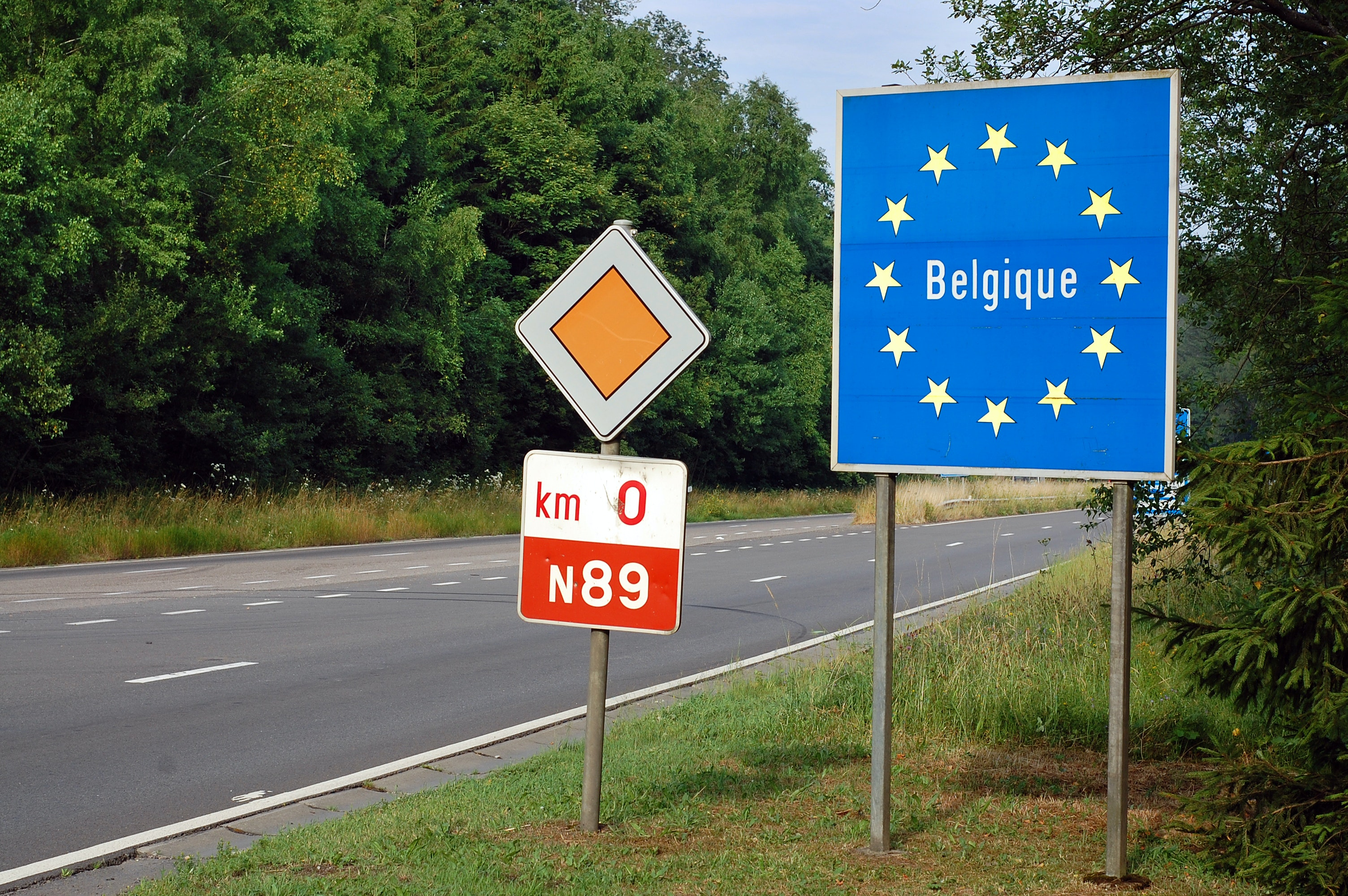 België grensovergang