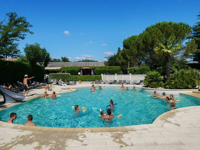 Camping Flower Le Riviera zwembad