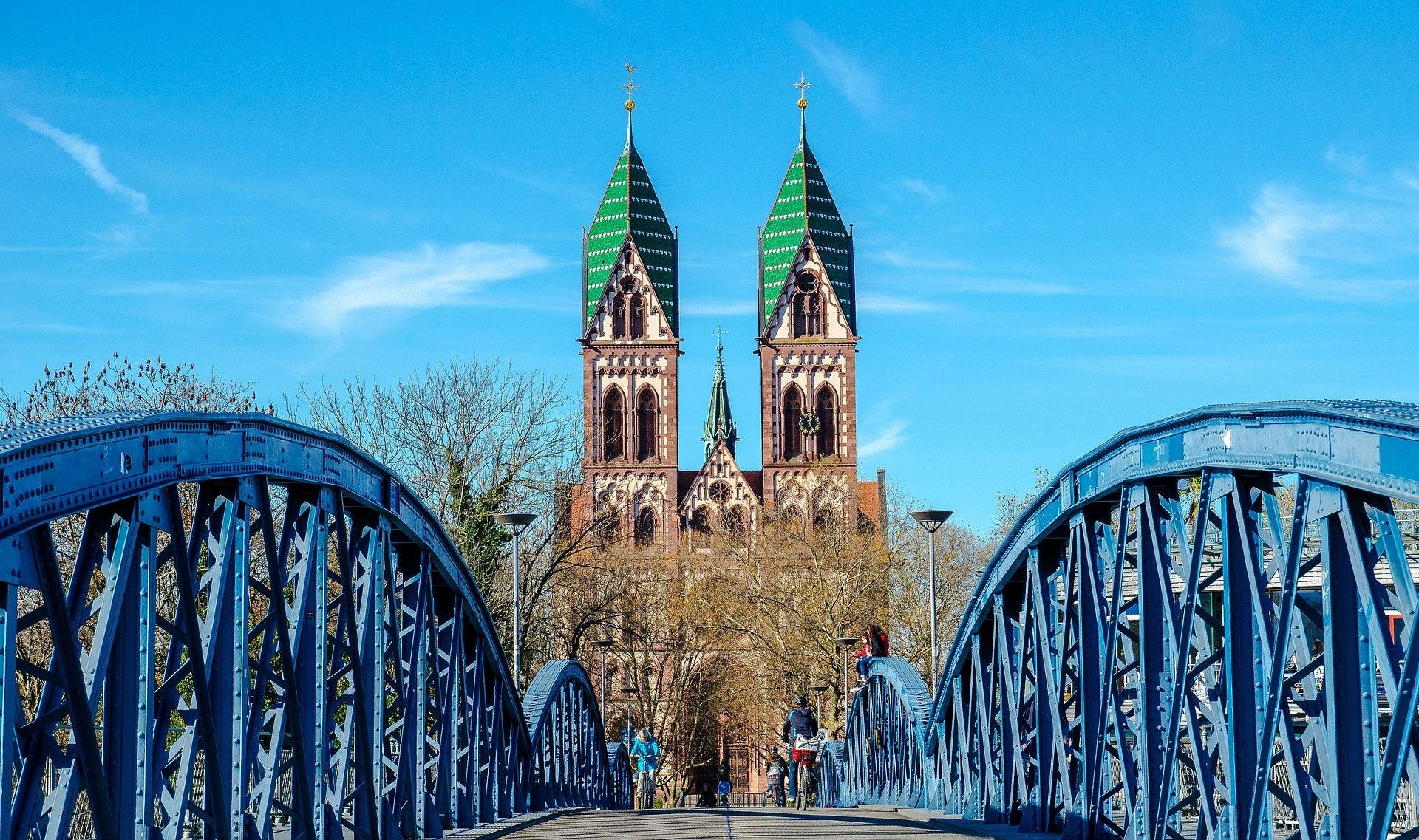 freiburg germany bridge deutschland breggen