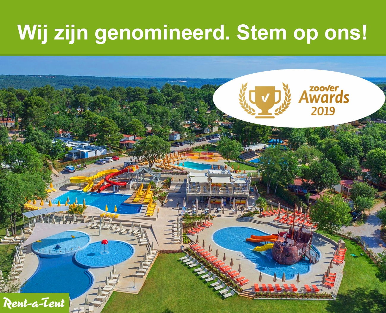 Genomineerd voor Zoover Awards 2019