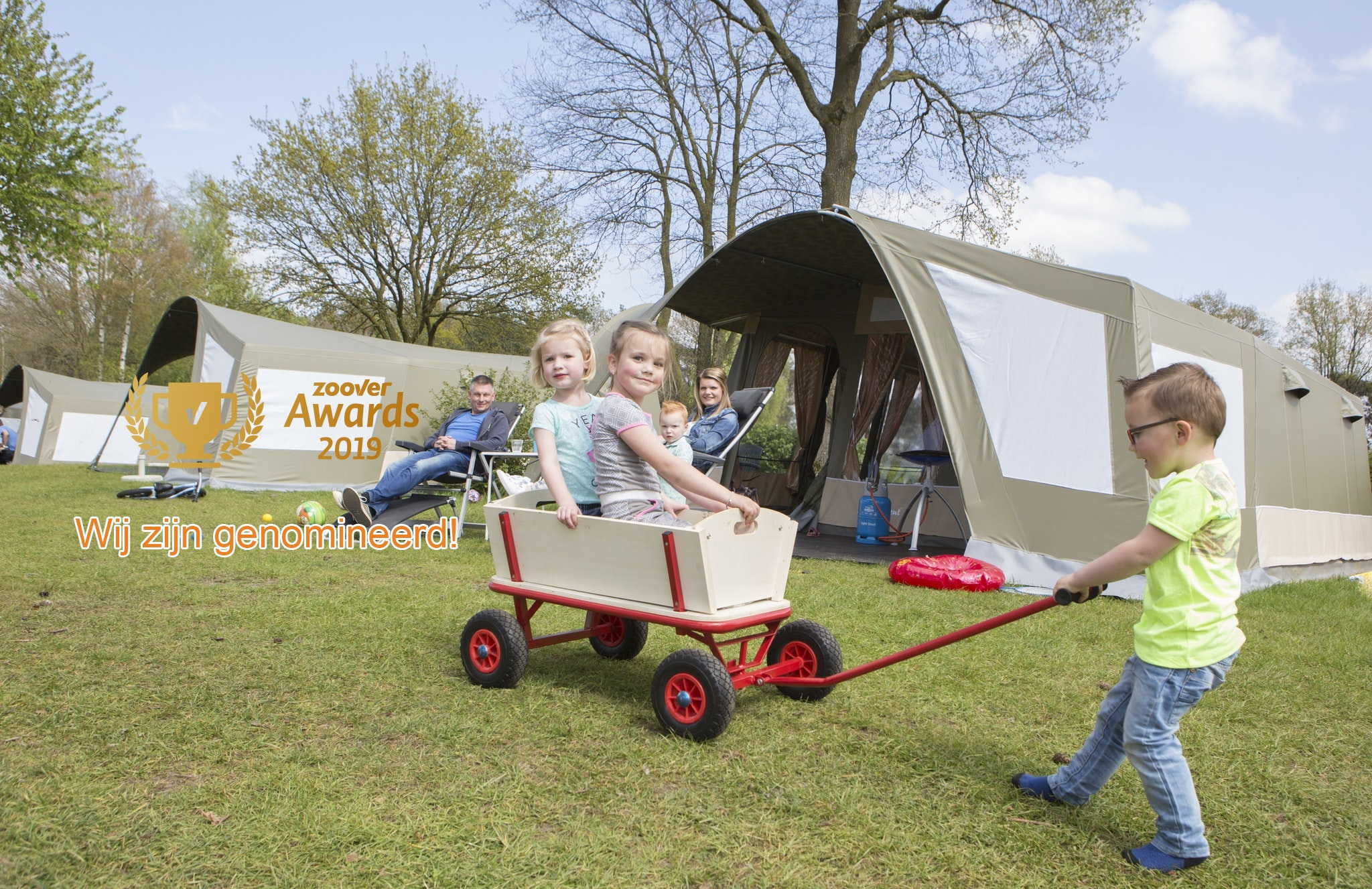 Zoover: stem op Rent-a-Tent