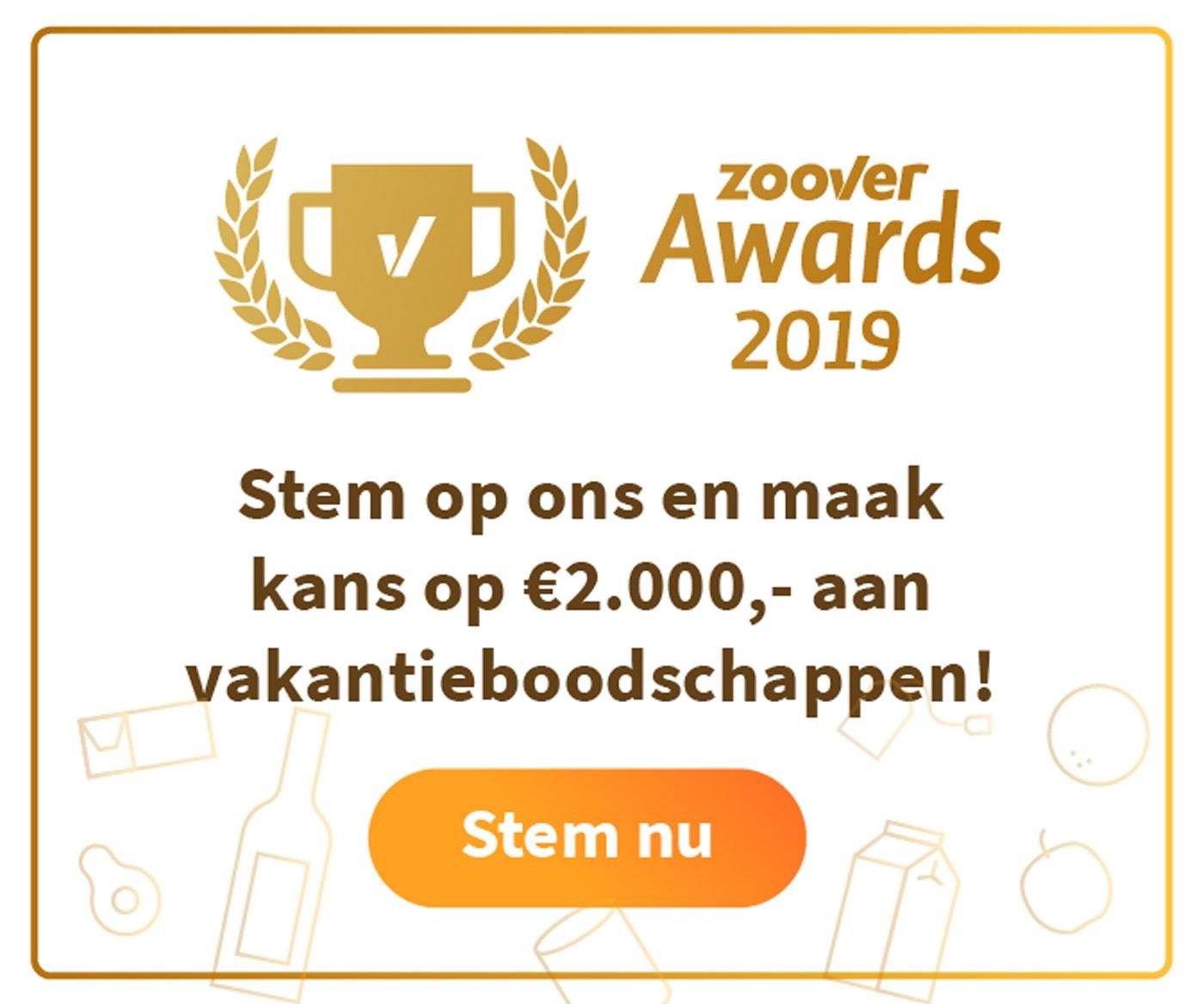 Zoover awards stemmen