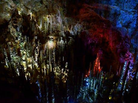 Cévennes national park france grot cave