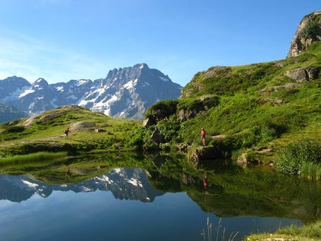 Écrins national park france