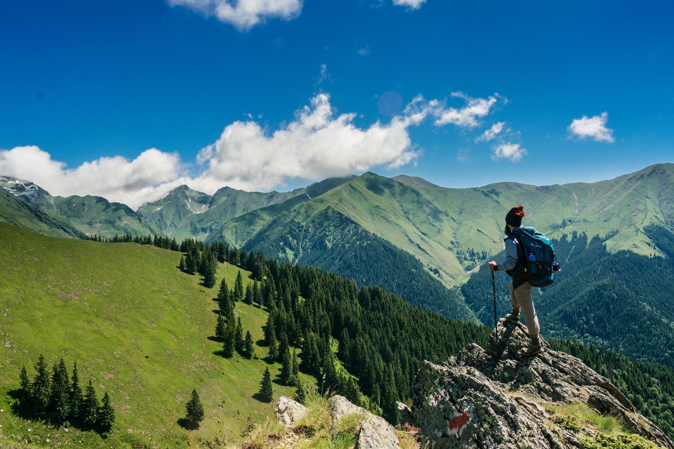 hiking national park