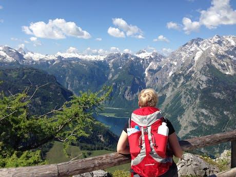 wandelen Königsee Beieren Duitsland Alpen