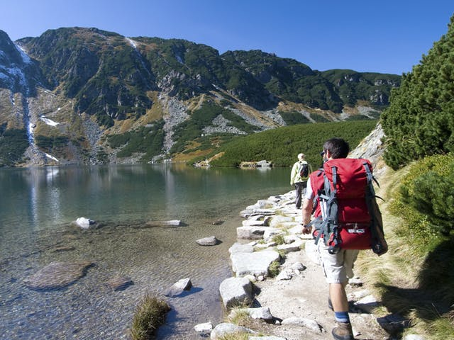 Polen wandelen Tatra gebergte
