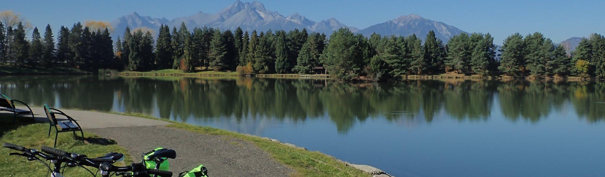 Polen Tatra gebergte met fiets