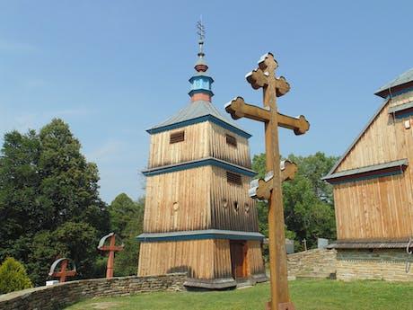kruis onderweg in Polen