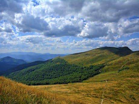 UItzicht over Poolse landschap Polen