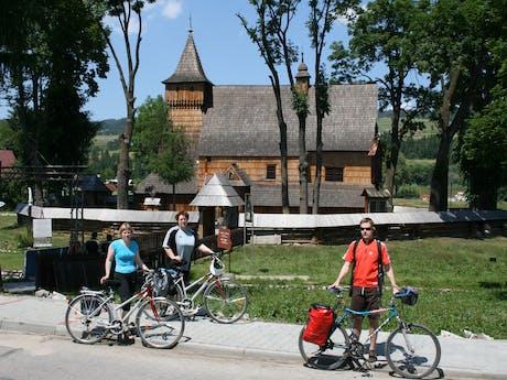 houten kerk in Polen