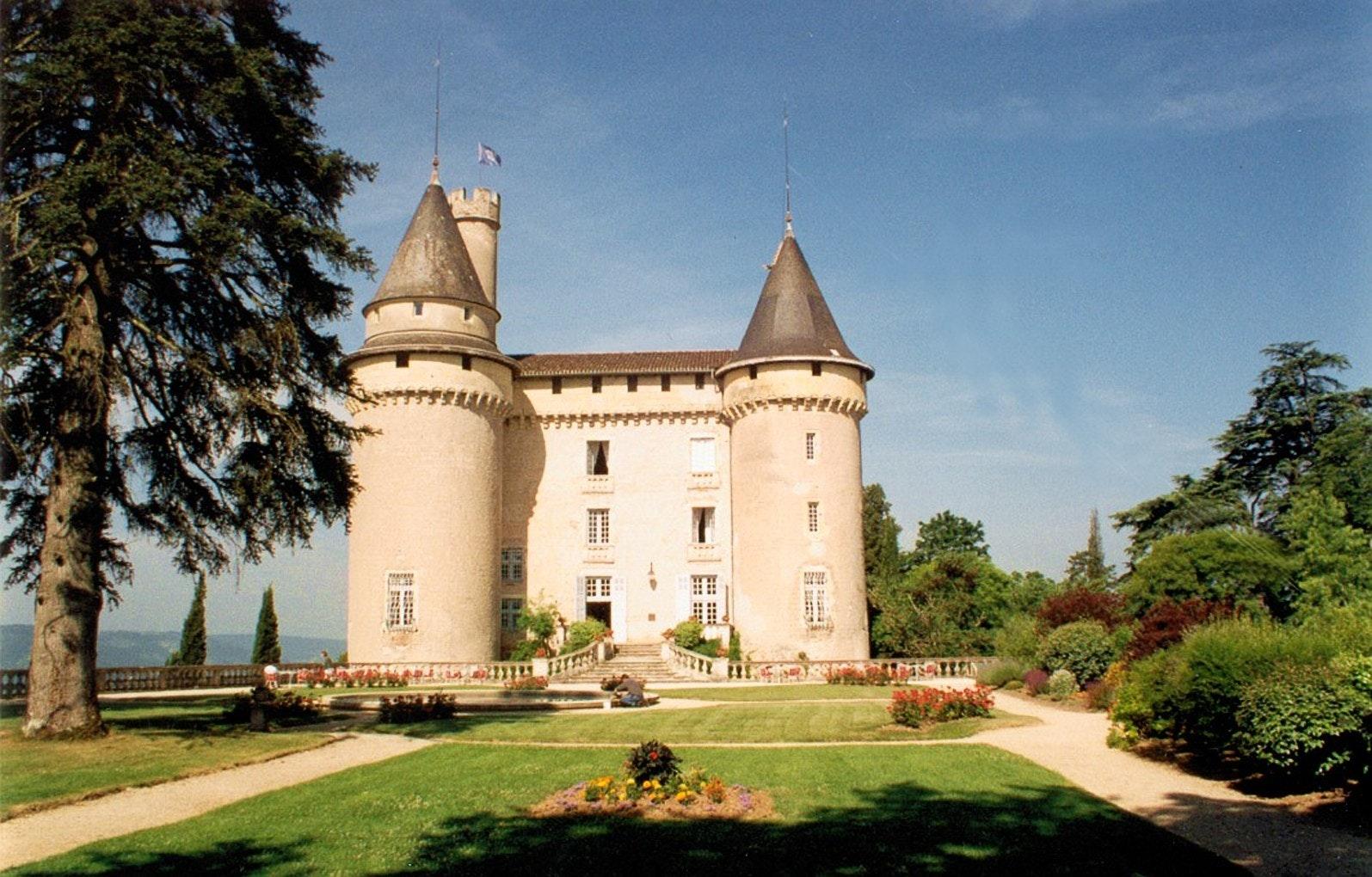 Mercues kasteel de Lot Le boat
