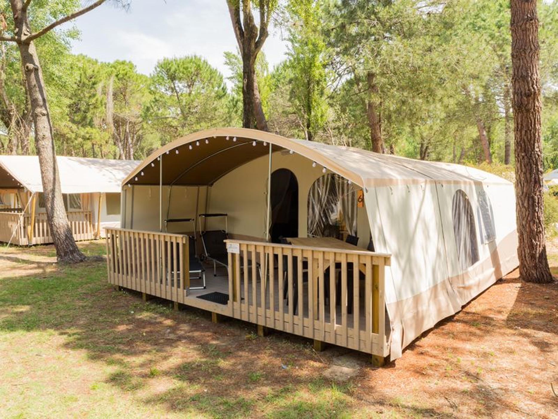 Campingvakanties Kroatië   Rent a Tent