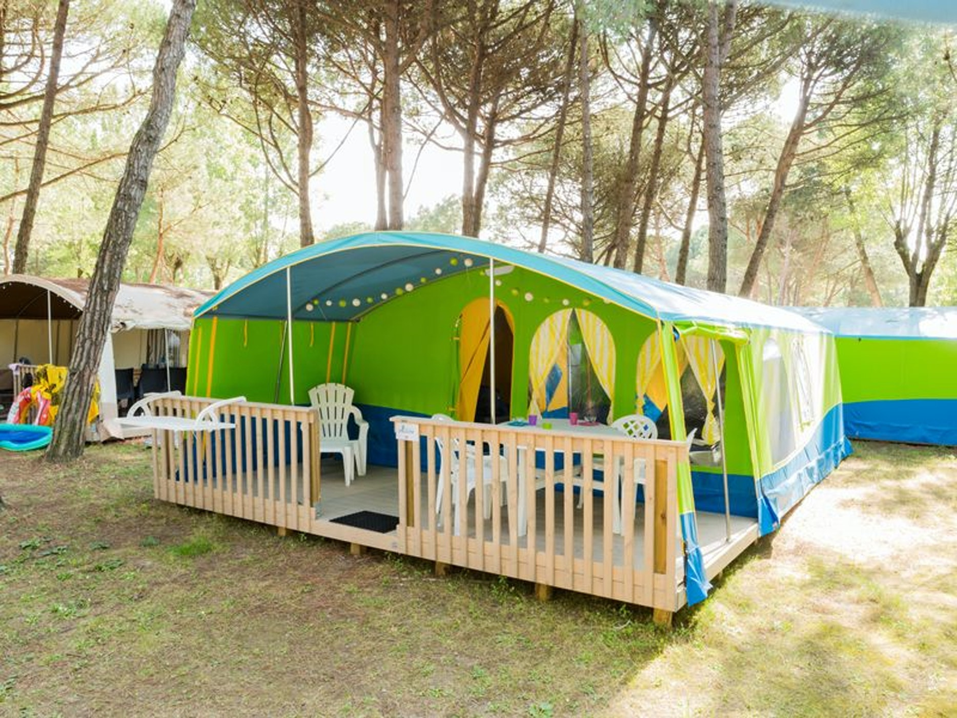 Lodgetent Forest