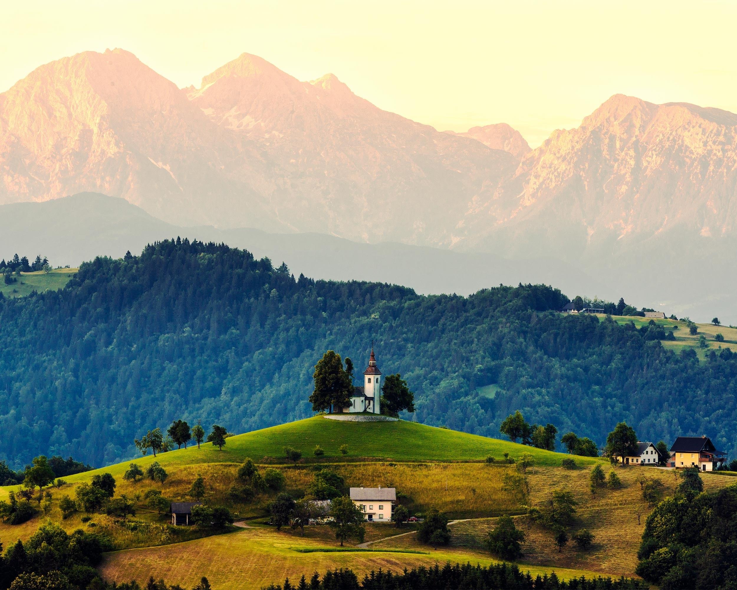 slovenia mountain plains