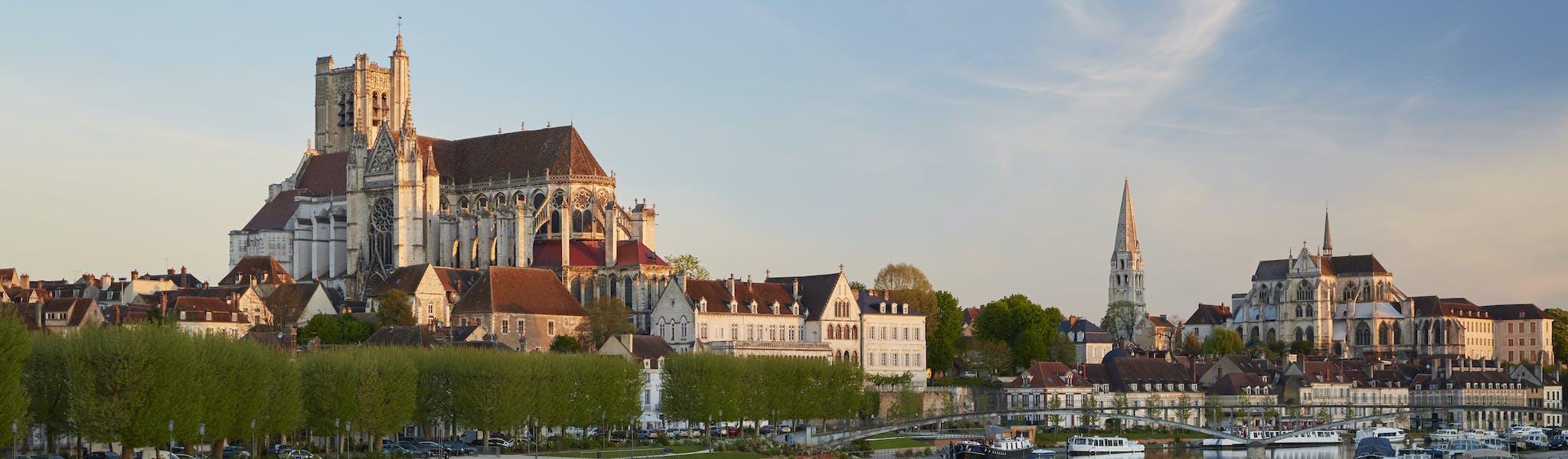 Auxerre varen Bourgondië