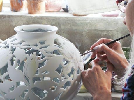 aardewerk Malicorne Bourgondië