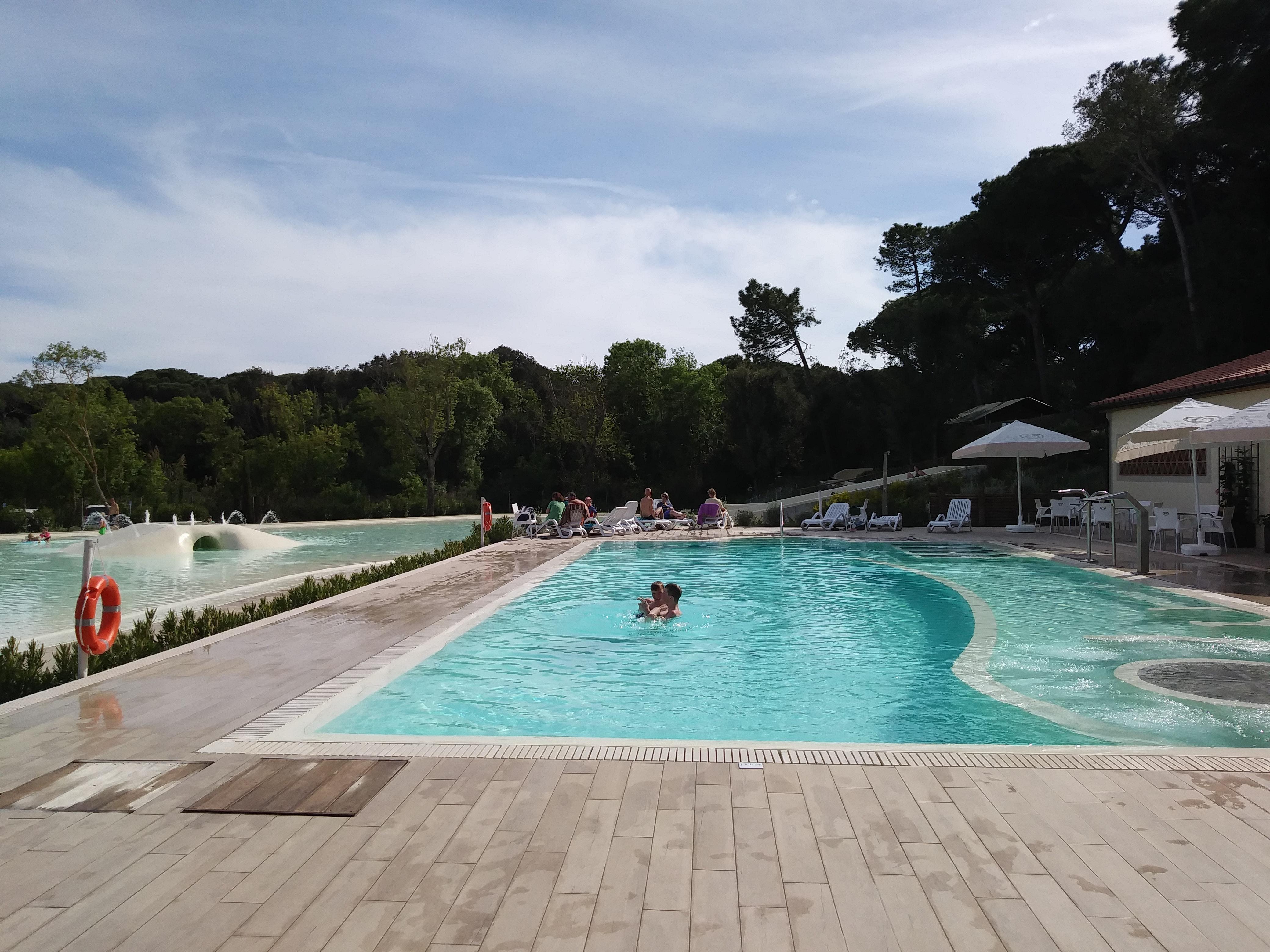 Camping Etruria zwembad