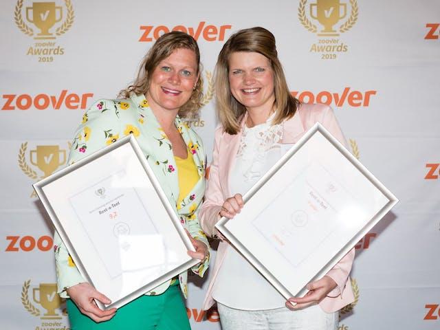 Zoover Award uitreiking 2019