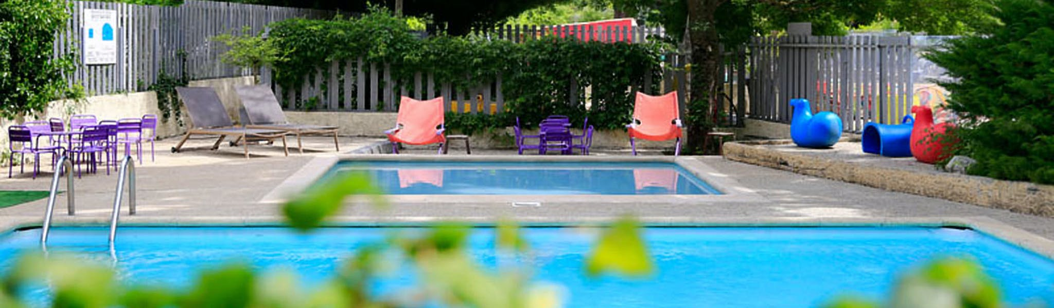 Zwembad Camping Medrose