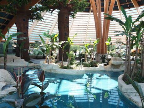 Domaine des Ormes binnenzwembad