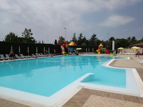 Camping Tiglio zwembad