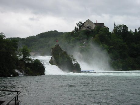 Bodensee waterval