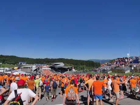 Formule 1-circuit (foto Kevin)