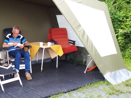 Henk en Dini Camping Hennesee