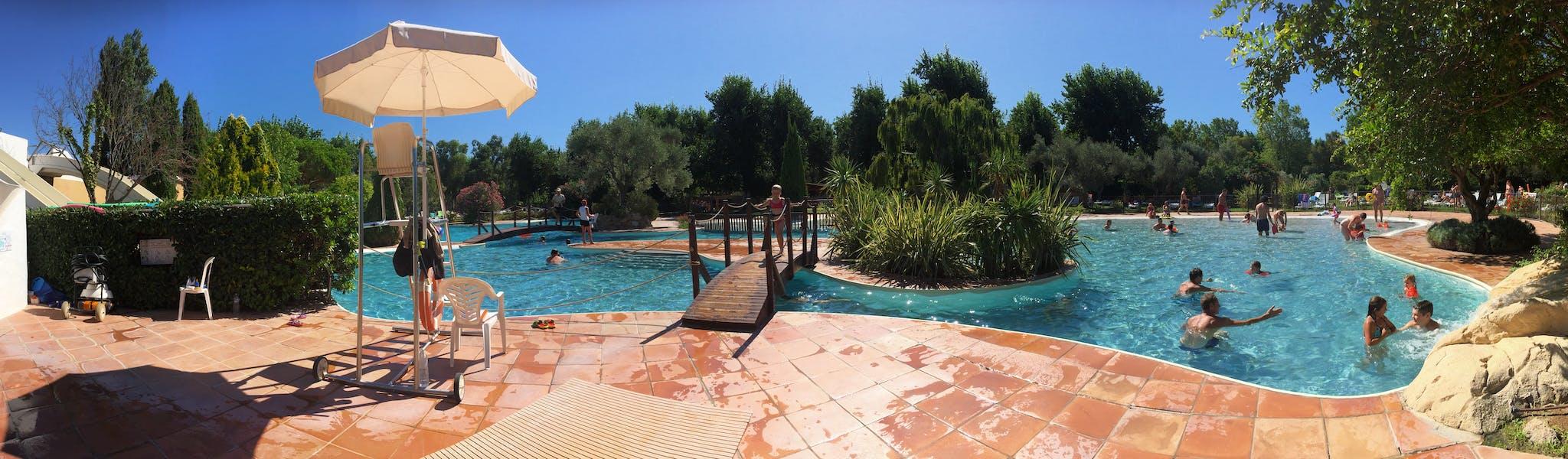 Serignan Plage zwembad panoramafoto