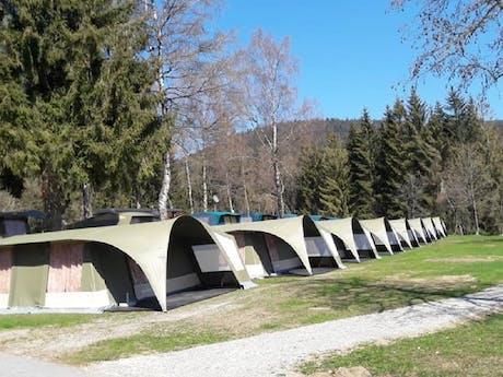 GlamLodge tenten camping Lackenhäuser