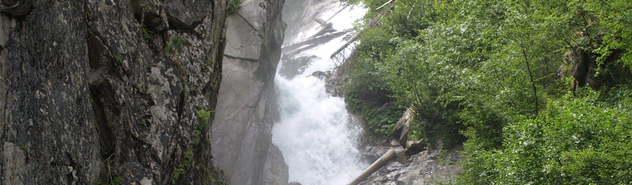 watervallen bij camping Natterer See
