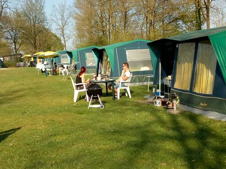 Bungalowtent Blue camping Hunzedal