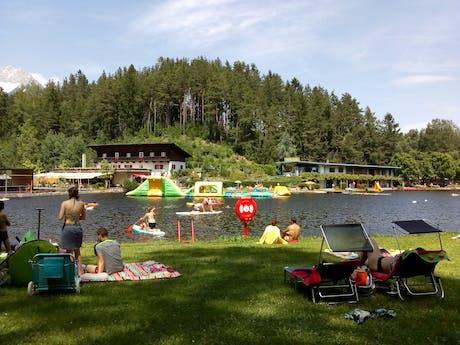Waterpret camping Natterer See