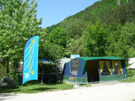 Receptietent camping Bled