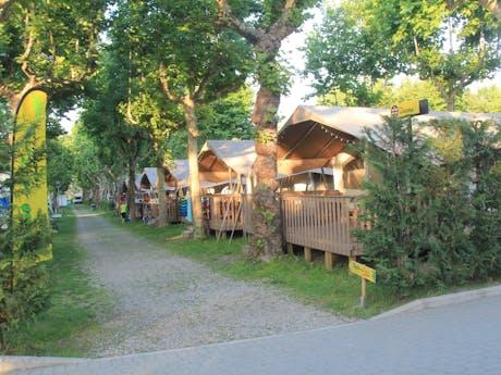 Safaritenten Olive camping Lago Maggiore