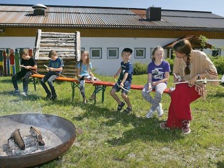 Camping Lackenhäuser kinderen