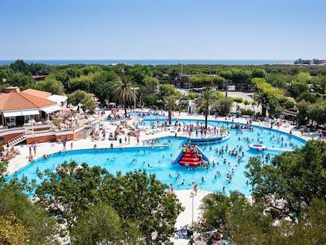 El Delfin Verde zwembad