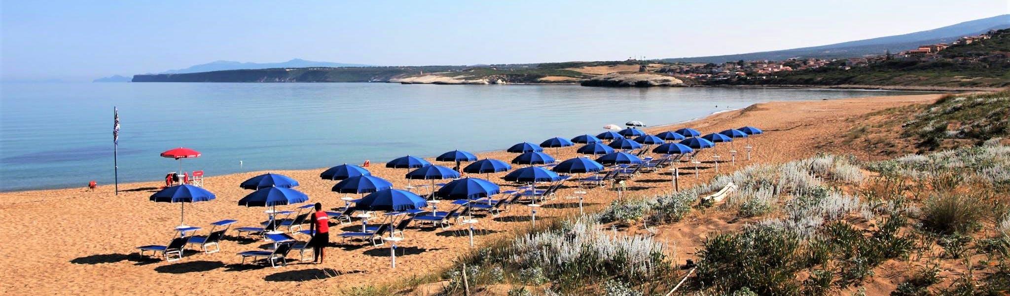 Strandbedden camping Bella Sardinia